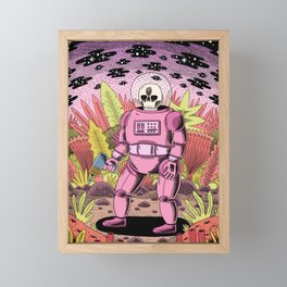 The Dead Spaceman Framed Mini Art Print