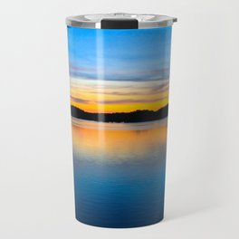 Sunset at Stumpy Lake in Virginia Beach Travel Mug