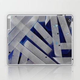 water stripes Laptop & iPad Skin