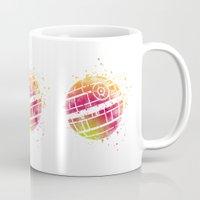 death star Mugs featuring Star . Wars Death Star by Carma Zoe