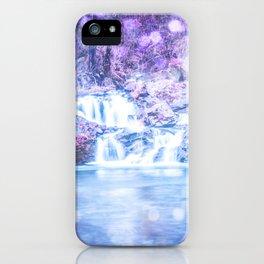 Mermaid Waterfall iPhone Case