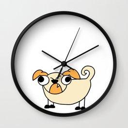 Dog Funny looking Design Print Wall Clock