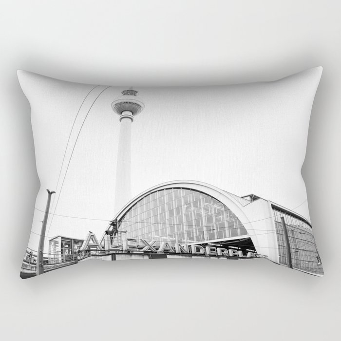Berlin Alexandraplatz Rectangular Pillow