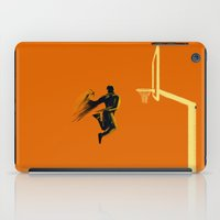 basketball iPad Cases featuring Basketball  by Enzo Lo Re