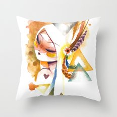 wilt Throw Pillow