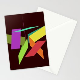 Abstract Nostalgia Stationery Cards