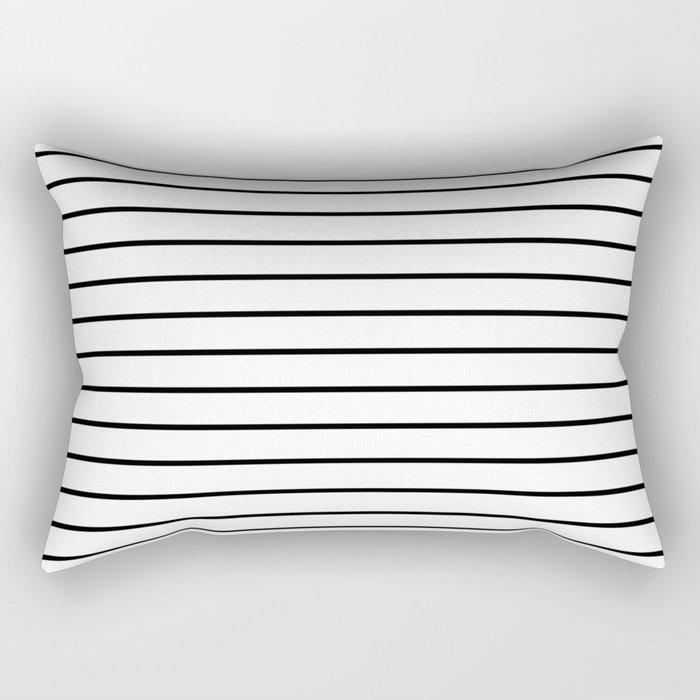 Minimalist Stripes Rectangular Pillow