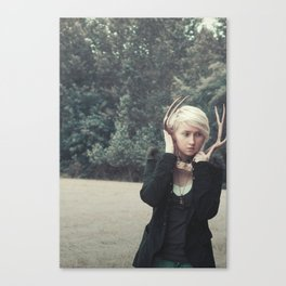 The art & fear of losing Canvas Print