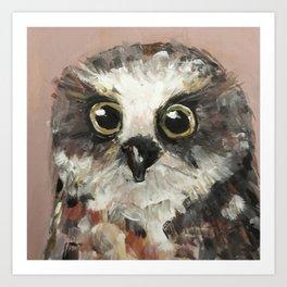 Nursery Art / Nursery Decor - Baby Owl Art Print