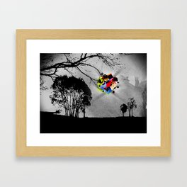 Clusters on mind #2 Framed Art Print