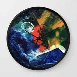 Mini World Environmental Blues 3 Wall Clock