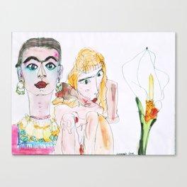 Trio Canvas Print