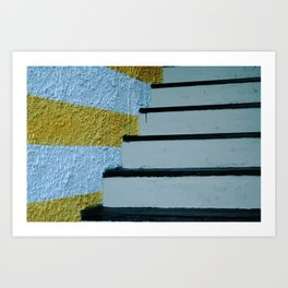 Portovenere Stairs Art Print