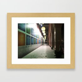 Contemplation in the Mosque Gallery Framed Art Print