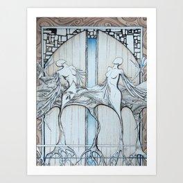 Gates Art Print