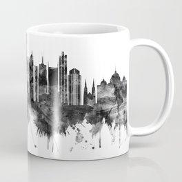 Melbourne Australia Skyline BW Coffee Mug