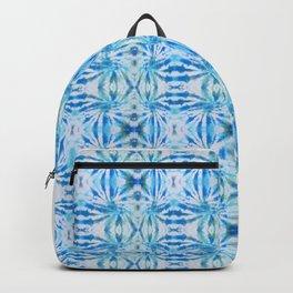 Summer Vibes Tie Dye in Lagoon Blue Backpack