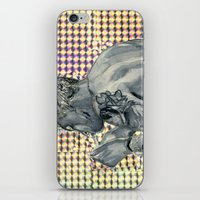 holographic iPhone & iPod Skins featuring Holographic George Daniel  by criminalsandliars