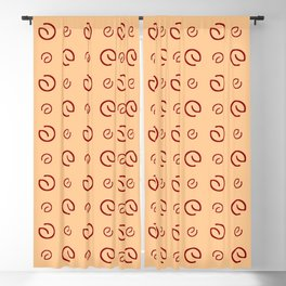 Antic pattern 16- from LBK ceramic colors Blackout Curtain