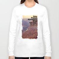 kerouac Long Sleeve T-shirts featuring Kerouac by muffa