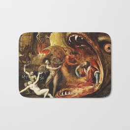 Demons and creatures Bath Mat