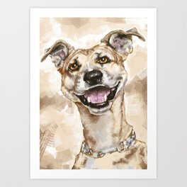 My Pet  Art Print