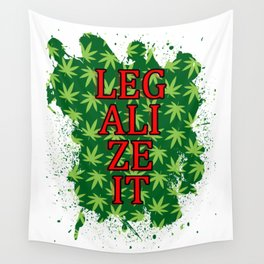 Legalize it Wall Tapestry