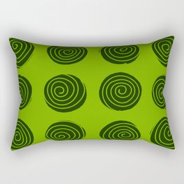 Lime Squeeze Rectangular Pillow
