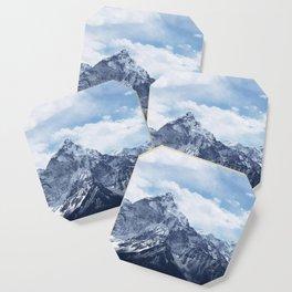 Snowy Mountain Peaks Coaster