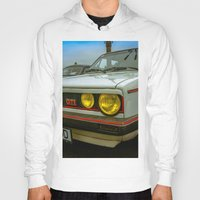 volkswagen Hoodies featuring Volkswagen Golf Vintage by Eduard Leasa Photography