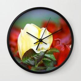 I embrace you tenderly Wall Clock