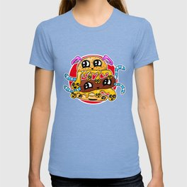Fast Food FRENZY - The Burger Squeeb Mash Up! T-shirt