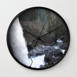 North Falls - Silver Falls State Park Wall Clock