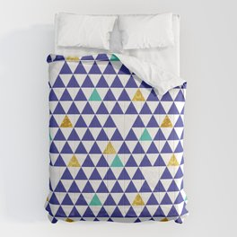 cozumel triangles Comforters