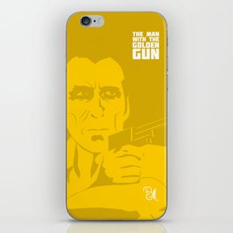 The Man With The Golden Gun iPhone Skin