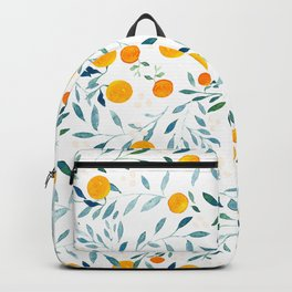 Orange Tree Backpack