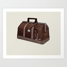 LOST Luggage / Jack Art Print