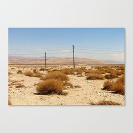 Road Less Traveled 001 Canvas Print