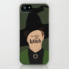 That Witch, McGonagall iPhone Case