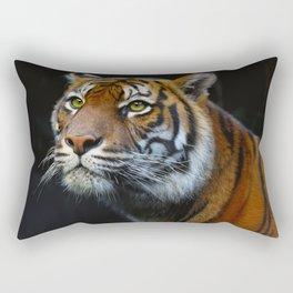 El Tigre Rectangular Pillow