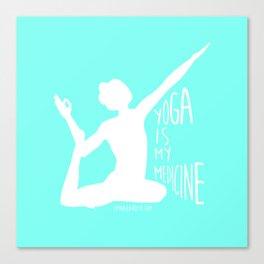 Lovin' Yoga II Canvas Print