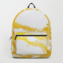 Gold Marble texture Backpack