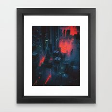 RED MEAT (everyday 10.12.16) Framed Art Print