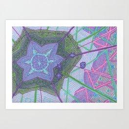 MakeYourOwn Starburst Art Print