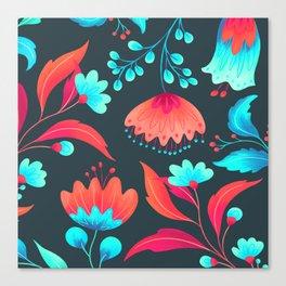 vivid flowers ii Canvas Print