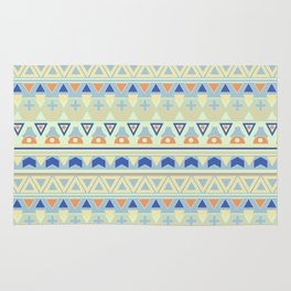 Ethnic , tribal , pastel Rug