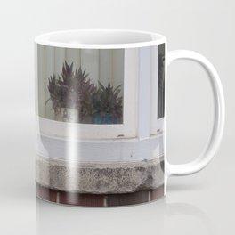 Plants in window Coffee Mug