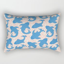 KOI Pattern Rectangular Pillow