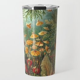 Vintage Plants Decorative Nature Travel Mug