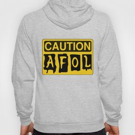 CAUTION AFOL ADULT FAN OF LEGO by Chillee Wilson [from Customize My Minifig] Hoody